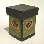 Bruce Alfred, Frog Bentwood Box