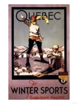 Canadian Pacific -- Quebec Winter Sports