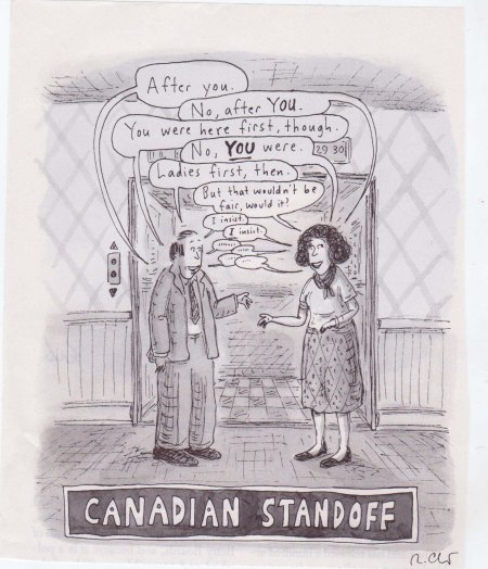 Canadian Standoff