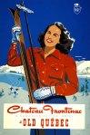 Chateau Frontenac -- Skiing