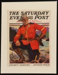 Saturday Evening Post Mountie
