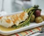 Carrie's Cod w/Seasonal Vegetables
