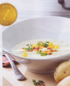 Heather Gunn McQuillian's PEI Baked Potato Soup