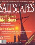 Saltscapes Cover March 2007
