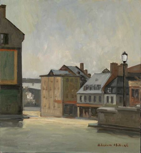 Adrien Hebert, Place Jacques Cartier (1939)