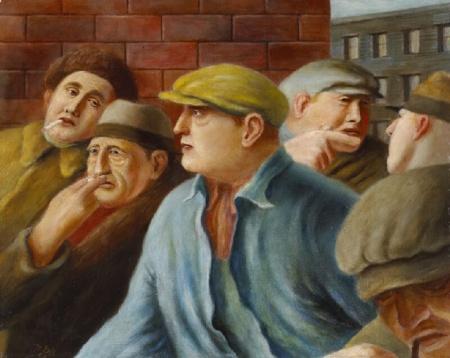 Miller Brittain, Longshoremen (1940)