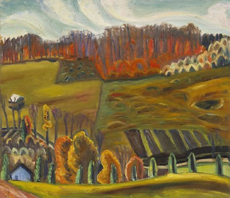 Prudence Heward, Autumn Fields (1941)