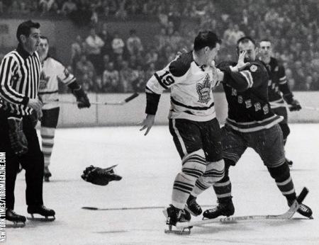 Leafs vs. Rangers 1966