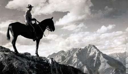 RCMP in Banff 1941