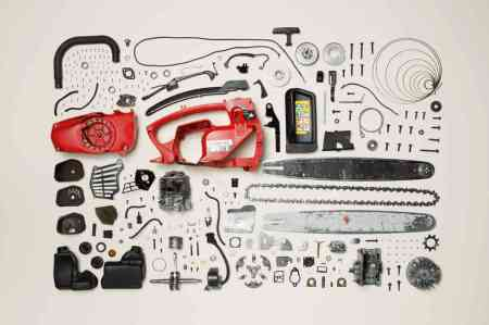 Todd McLellan -- Chainsaw Apart