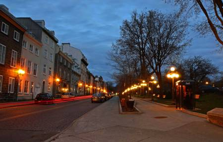 Night Fall, Quebec City