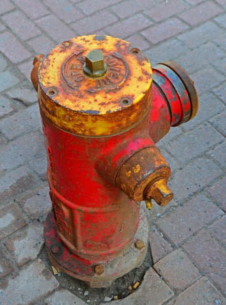 Rustic Fire Hydrant, Quebec City