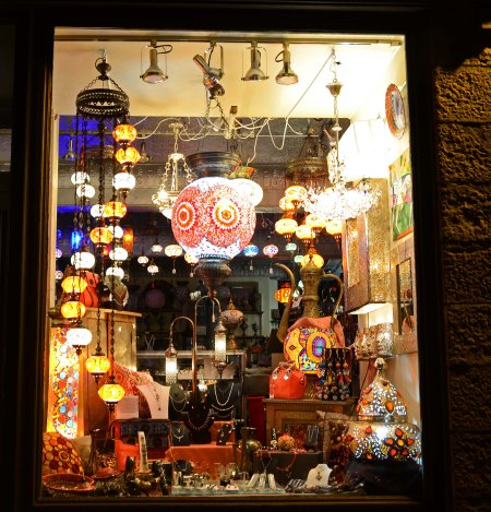 Antique Shop at Night, Quebec City