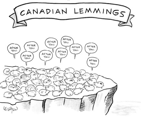 Canadian-Lemmings