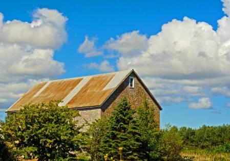Barn Scene, Near Grande Pre, Nova Scotia
