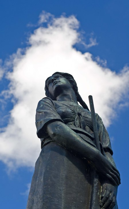 Statue of Evangeline, Grand Pre, Nova Scotia