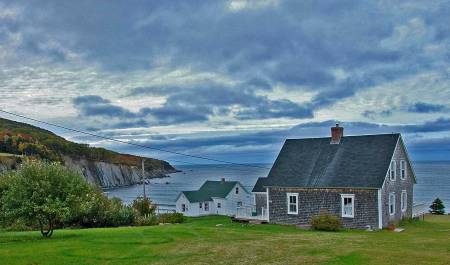 Cloudy Day, Capstick, Nova Scotia