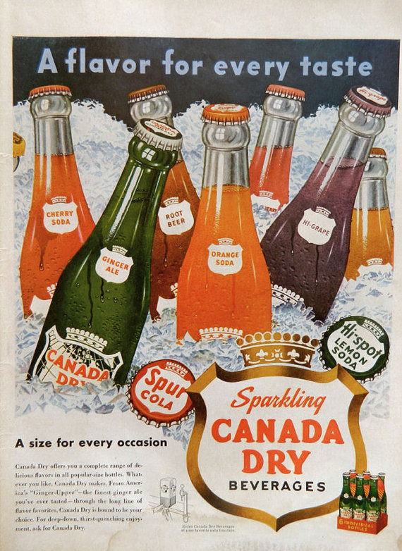 Fizzy Christmas Drink Advertising