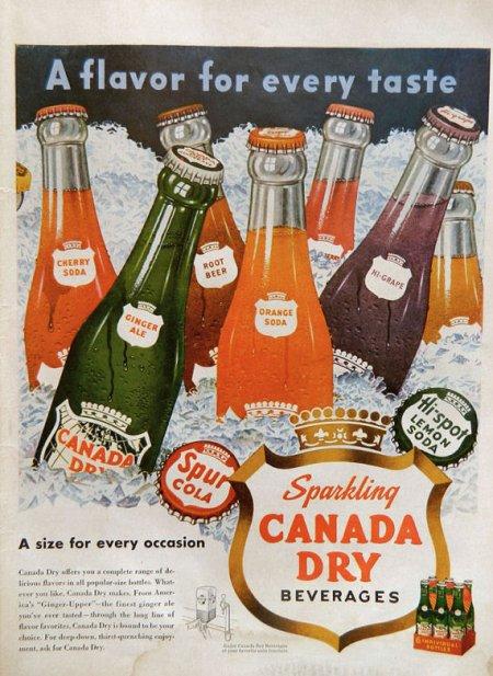 Canada Dry -- Sparkling