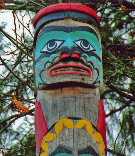 Sky Chief Pole, Stanley Park, Vancouver