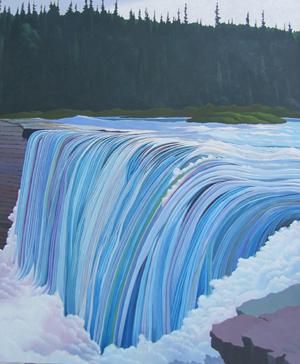 Michael Glover, Alexandria Falls, Enterprise, NWT (2012)