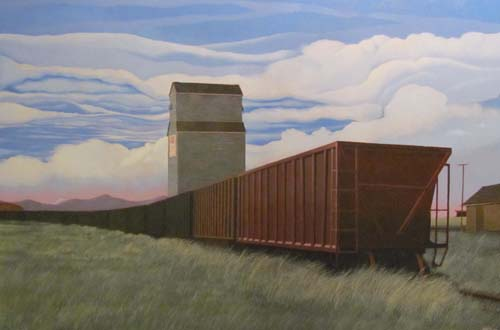 Michael Glover, On the Crowsnest Line, Pincher Station, Alberta (2012)