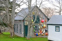 Colorful Cottage, Campobello Island, N.B.