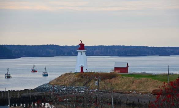 Toward Sundown, Campobello Island Lighthouse, New Brunswick