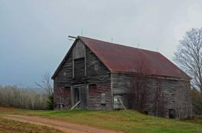Majestic Working Barn, Near Woodville, N.S.