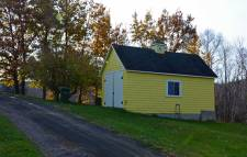 Bright Yellow Shed, Youngs Cove, N.S.