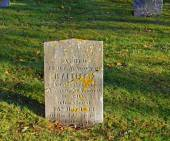 Sacred to the Memory Of . . . , Loyalist Burying Ground, St. Andrews By the Sea, N.B.