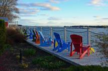 Colorful Chairs, St. Andrews By the Sea, N.B.