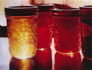Mary Pratt, Jelly Shelf (1999)