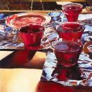 Mary Pratt, Red Currant Jelly (1972)