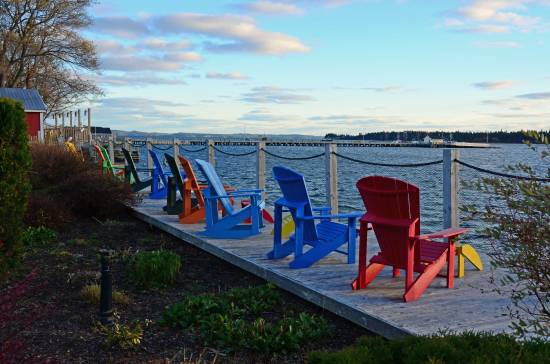Cozy Chairs, St. Andrew's By the Sea, N.B.