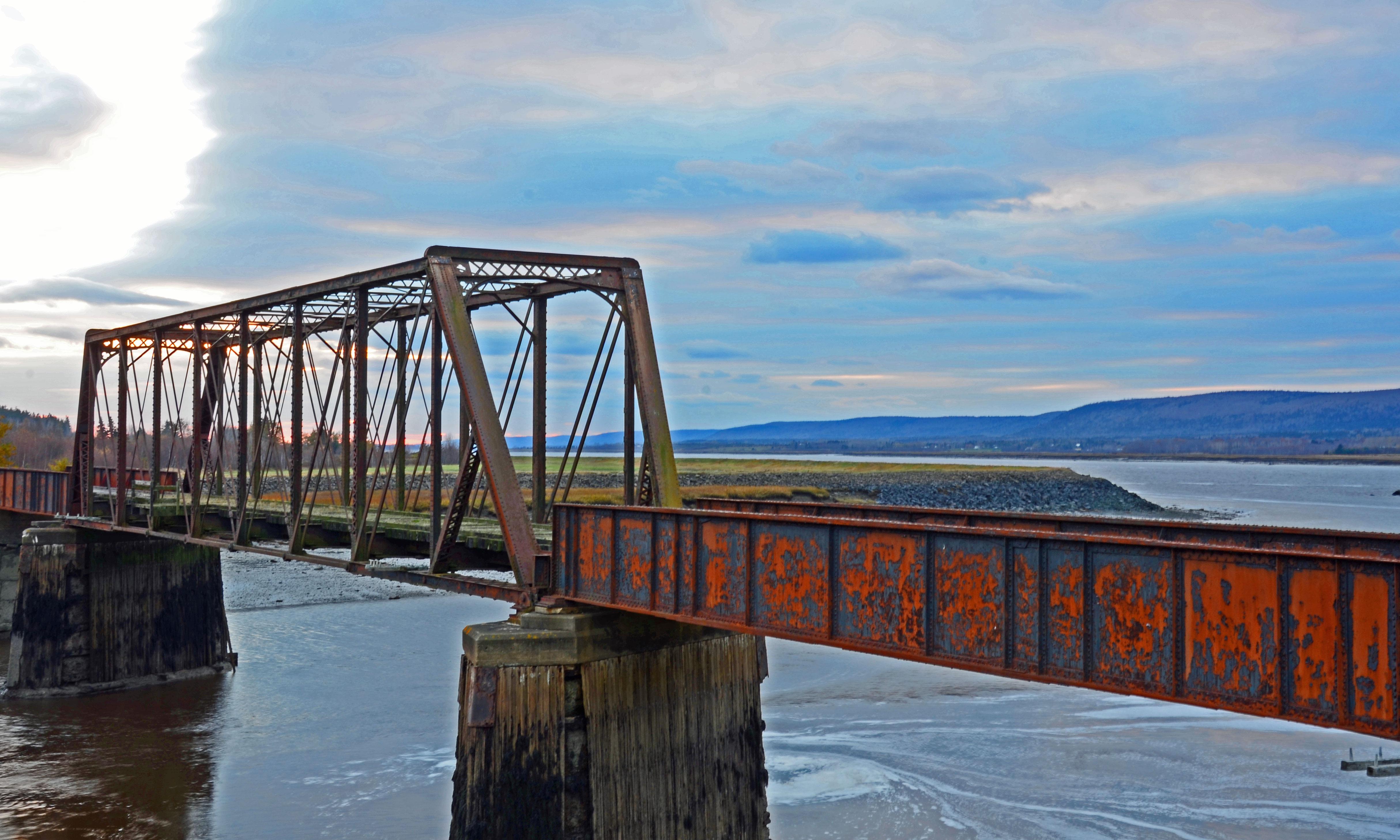 Beautiful Old Railroad Bridge, Near Clementsport, N.S. « O ...