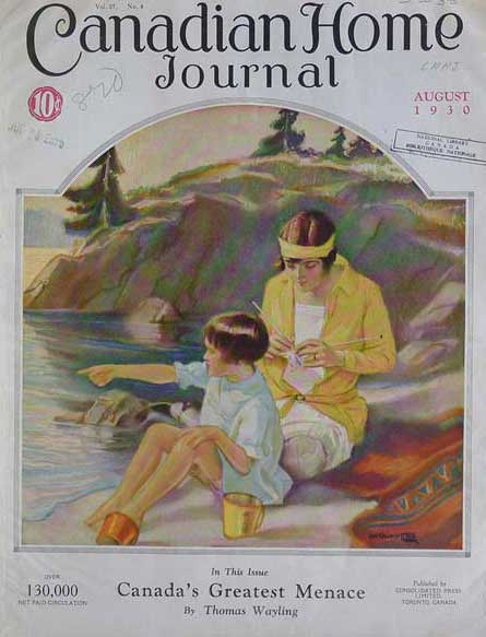 Vintage Canadiana: Canadian Home Journal « O' Canada