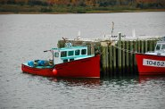 Fishing Boats, Near Bay St. Lawrence, Cape Breton, Nova Scotia