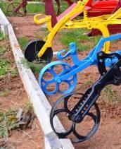 Colorful Plow Wheels, Northville Farm Heritage Center, N.S.