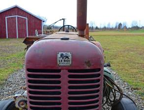 Le Roi Farm Tractor, Northville Farm Heritage Center, N.S.