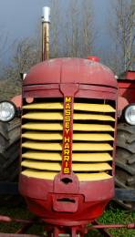 Massey Harris Tractor, Northville Farm Heritage Center, N.S.
