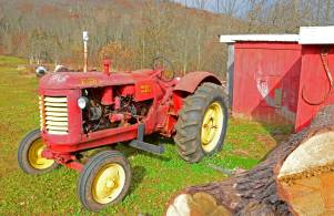 Massey Harris Tractor, Northville Farm Heritage Center, N.S.
