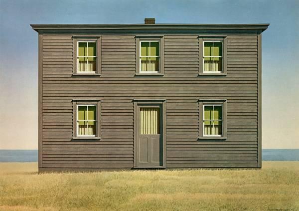 Artist to appreciate christopher pratt o 39 canada for Classic house nl