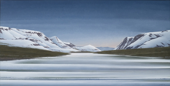 C. Pratt, Spring Coming Over Trout River (2009)