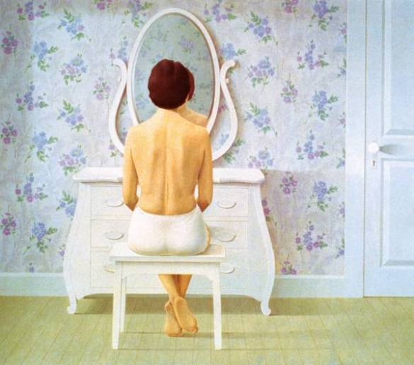 C. Pratt, Woman at Dresser (1964)