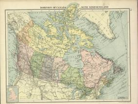 Dominion of Canada with Newfoundland (1920)