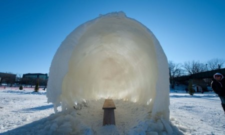 Ice Pillows Hut