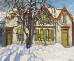 Lawren Harris, House on Gerrard Street