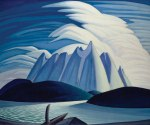 Lawren Harris, Lake and Mountains