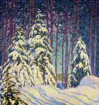 Lawren Harris, Winter Sunrise